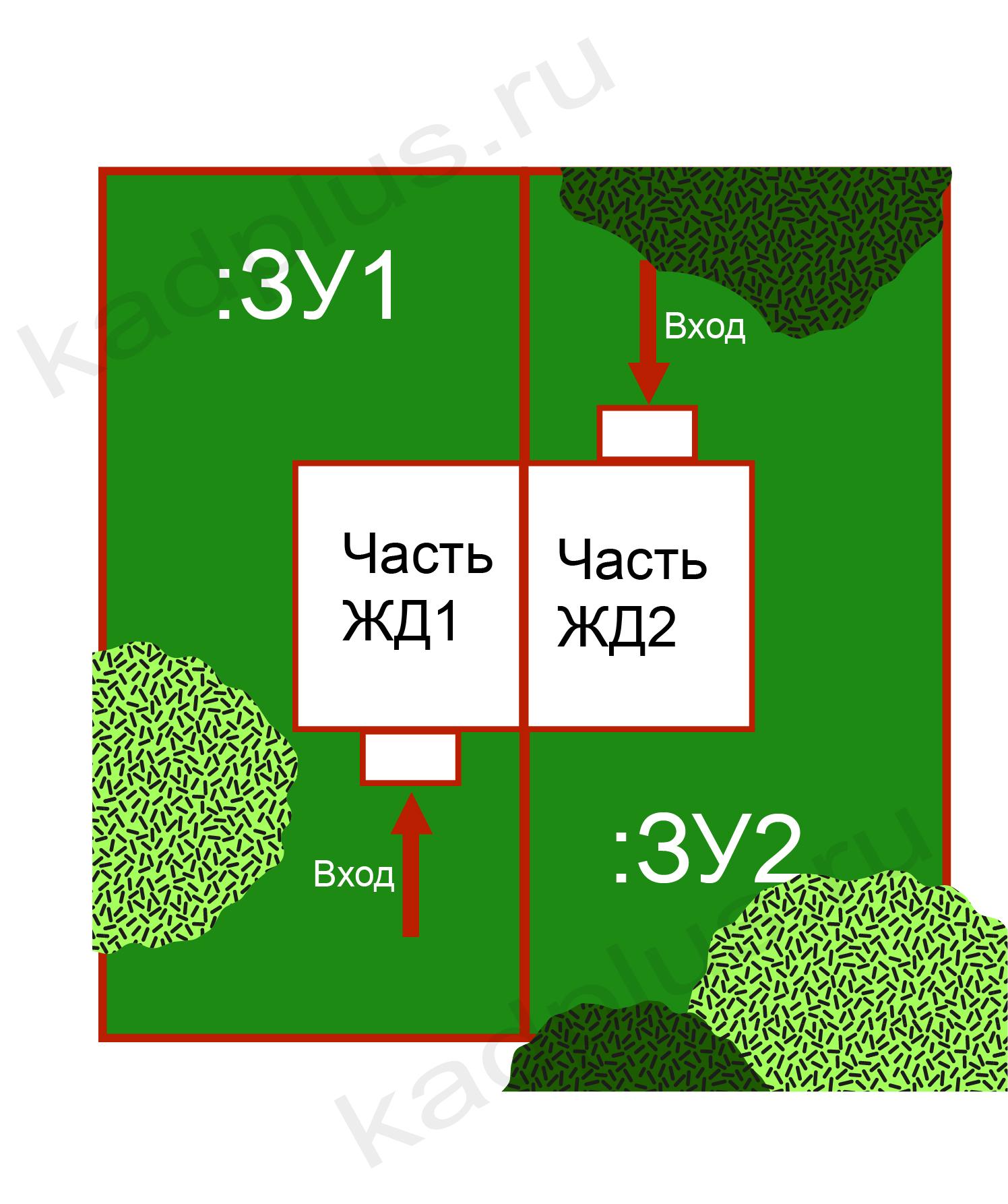 Раздел жилого дома